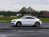 4/5/2014 Jaguar Drivers Club Track Day at Croft. EOS 1 dX + 70-200mm. Chicane.  Damp track. Group 1 (A) Chicane.