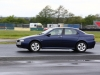 4/5/2014 Jaguar Drivers Club Track Day at Croft. EOS 1 dX + 70-200mm. Chicane.  Damp track. Group 2 (b) Chicane.