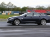 4/5/2014 Jaguar Drivers Club Track Day at Croft. EOS 1 dX + 70-200mm. Chicane.  Damp track. Group 3 (C) Chicane.