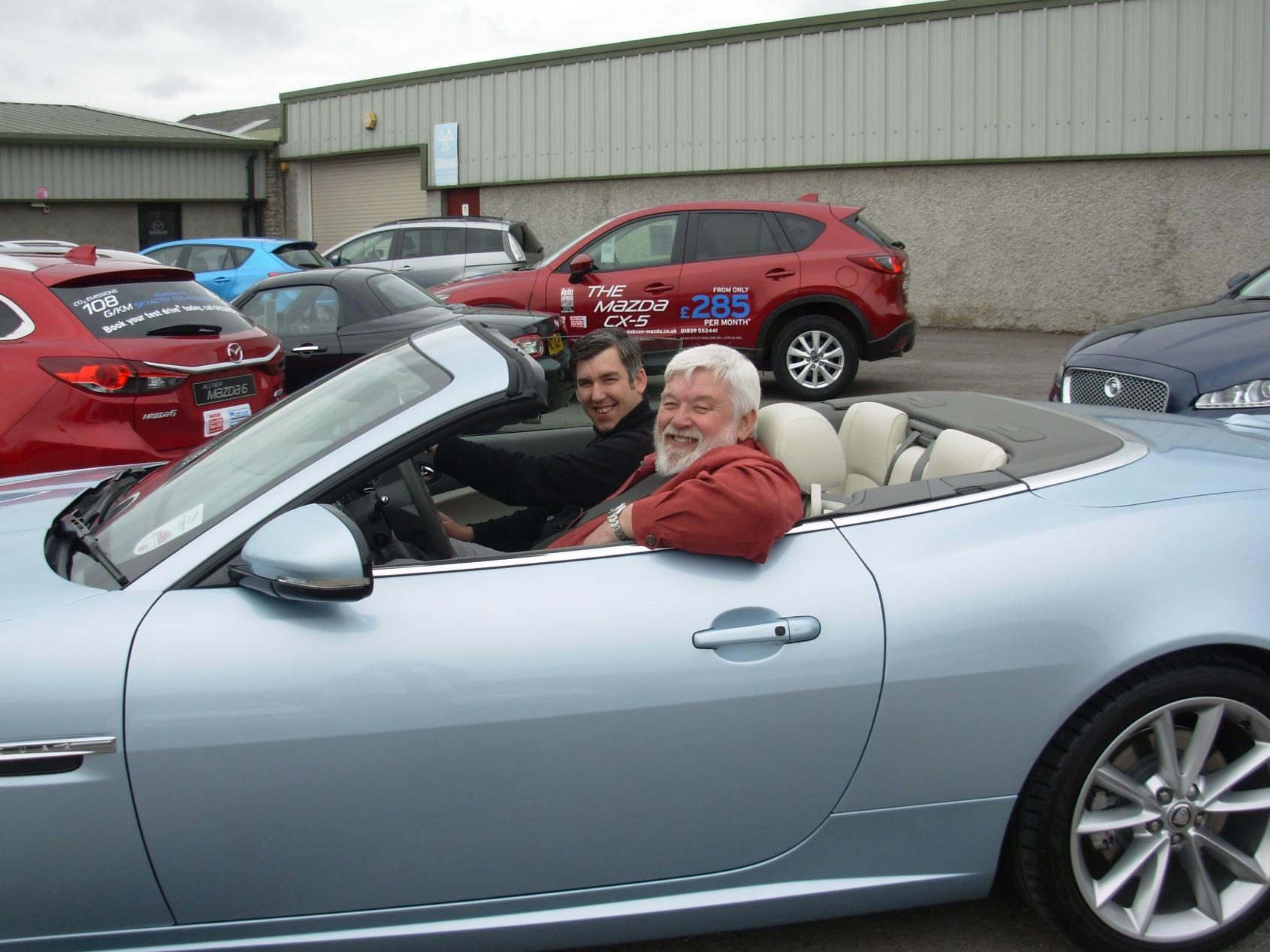 PV Dobsons Solway Jaguar XK